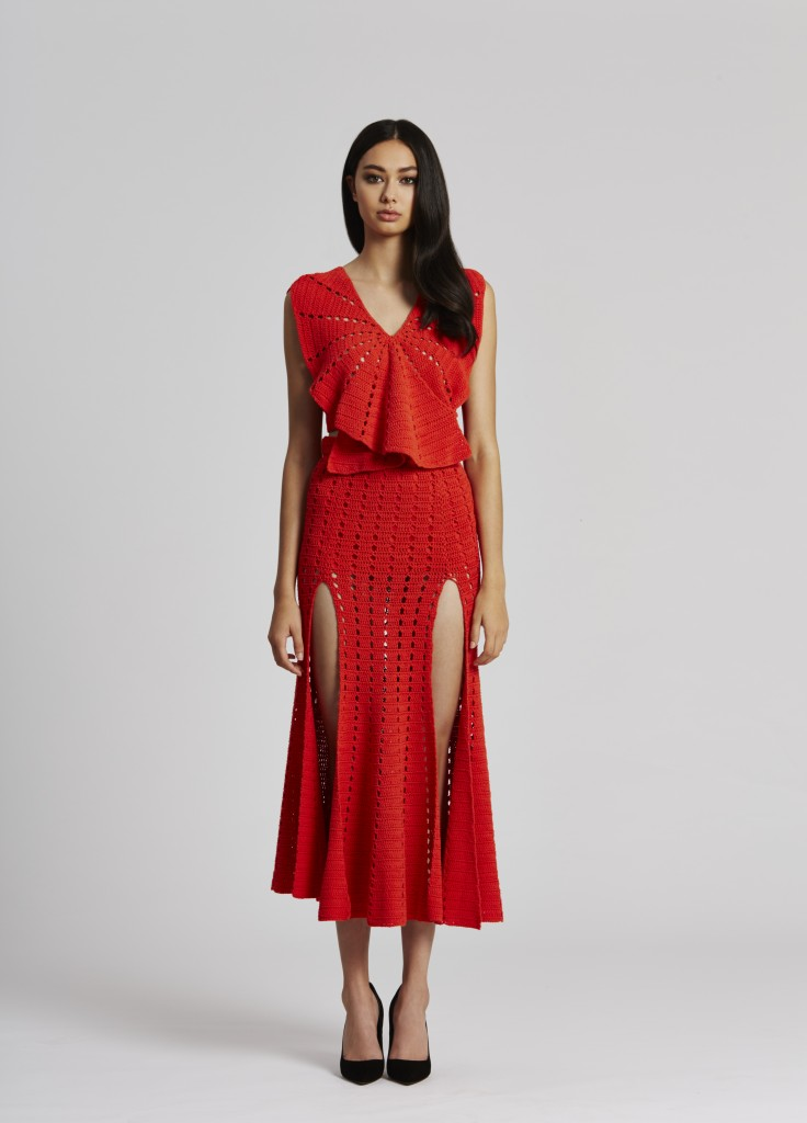 3. I Want it All Top in Red and Higher Ground in Red - Front